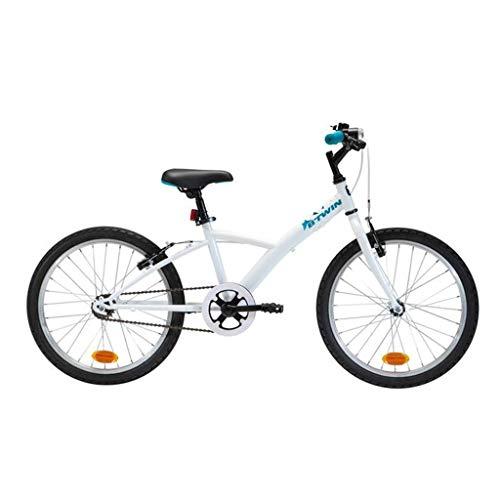 Mountain Bike per Bambini, Telaio in Acciaio 20 Pollici (Adatto per 125-140 cm), Bicicletta a velocità Singola per Bambini e Adolescenti