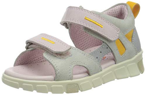 ECCO Mini Stride Flat Sandal, Grau(Multicolor Concrete), 28 EU