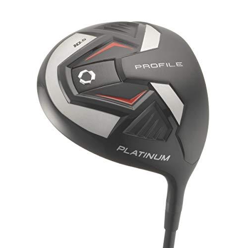Wilson Golf Profile Platinum Package Set, Men's Right Handed, Regular Carry , Grey/Black