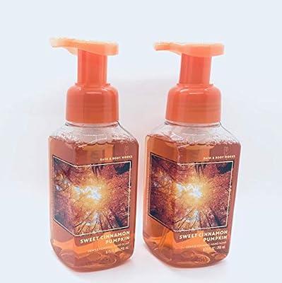 Bath & Body Works Sweet Cinnamon Pumpkin Gentle Foaming Hand Soap (2-Pack)