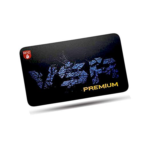 Credit Card Protector By VSR Premium RFID Blocking Shield Passport Debit IDs NFC Fraud Guard Contactless Scam Scanner Data Copier Signal Vault Safe Block Cloning Pickpocket Hack Proof Fits Any Wallet