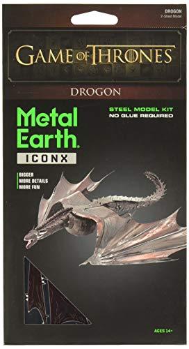 Professor Puzzle Juego de Tronos Metal Earth, Drogon