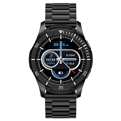 CETLFM New Full-Full Circle-Smart Touch Reloj De Los Deportes De Múltiples Funciones del Color De La Pantalla, El Sueño Seguimiento del Mercado Al Aire Libre Inteligente Reloj,A