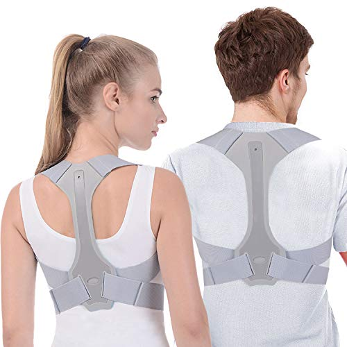 Posture Corrector for Women and Men FDA Approved Adjustable Upper Posture Brace for Support and...