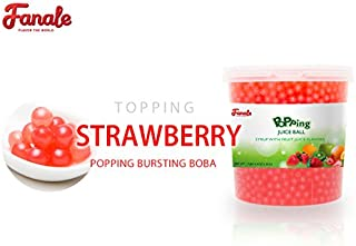 Fanale - Popping Boba Single Tub (Strawberry)
