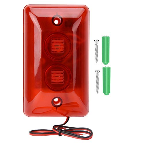 Buy Discount Focket Siren Sound Buzzer Flash Warning Light DC 12V Alarm Strobe Light, Strobe Light, ...