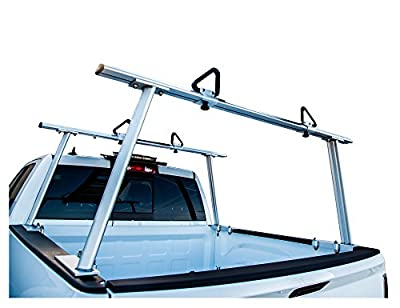 Buyers Products 1501675 Silver Aluminum Truck Rack