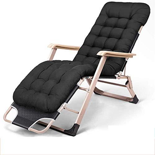 Chaises classiques Lounge Sun Lounger/Zero Gravity Chaises longues Chaise pliante Fauteuil inclinable Portable Reclining CHAISE Pour Bureau d'extérieur Lit Balcon Terrasse Camping Lit Loisirs Chaise