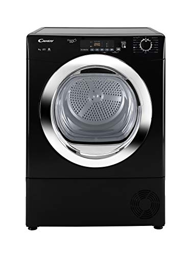 Candy GVS C9DCGB Freestanding Condenser Tumble dryer, NFC Connected, 9Kg Load,...