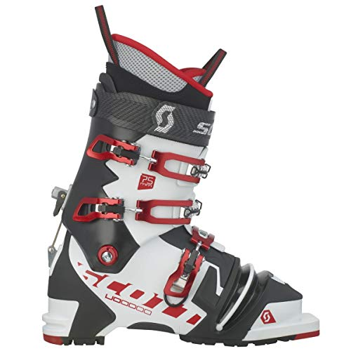 –Botas de esquí para hombre Scott Voodoo 2018–Botas de esquí, color negro/blanco, tamaño 27,5