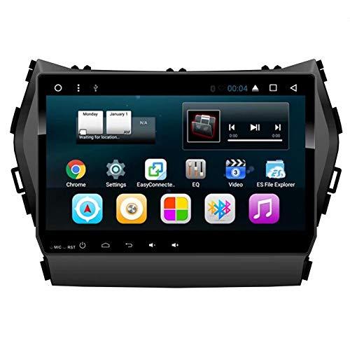 TOPNAVI Android 7.1 Voiture Navigation GPS pour Hyundai Santafe 2013 2014 2015 2016 2017 Voiture Autoradio Stéréo Unité avec WiFi 3G RDS Lien Miroir FM Audio Vidéo