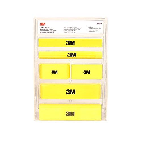 3M Stikit Sanding Block Kit, 05692, 6 per case