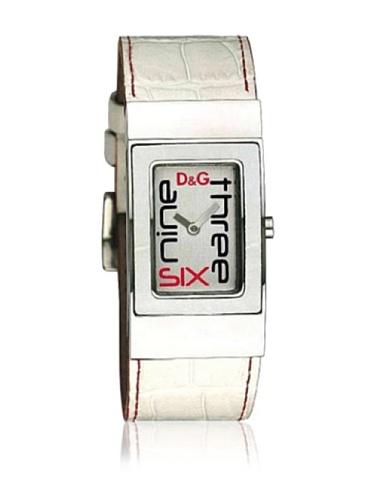 D&G DW-0055 - Reloj de Señora Movimiento de Cuarzo con Correa Piel