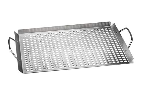 Outset 76632 Stainless Steel Grill Topper Grid 11quotx17quot