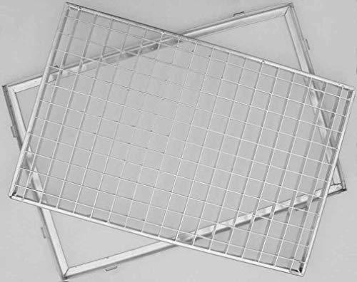 ACO Gitterrost mit Zarge 60x40 cm, 30 / 30er Masche