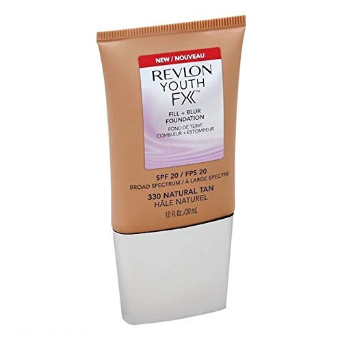 Revlon Youth FX Fill + Blur Foundation 330 Natural Tan 30 ml