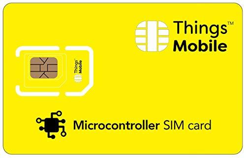 SIM Card per MICROCONTROLLORE Things Mobile con copertura gl