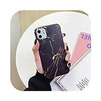 耐衝撃性大理石柄電話カバーfor iPhone 11 X XR XS最大ハードPCバックケースfor iPhone 6 s 8 7プラスアート大理石ケース-IU0175-for iPhone X