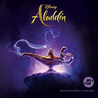 Aladdin audiobook cover art