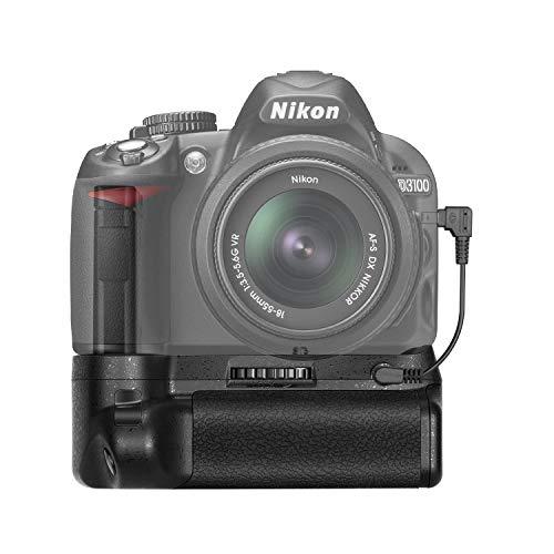 Neewer Professional Vertical Battery Grip Replacement for Nikon D3100/D3200/D3300/D5300 SLR Digital Camera, Works with 1 or 2 Pieces EN-EL14 Batteries