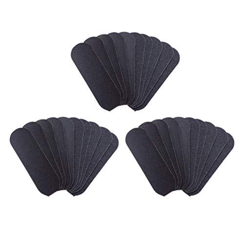 HEALLILY Almohadillas de Repuesto para Limas de 50 Piezas Almohadillas de Repuesto para Pedicura Reemplazo de Papel de Lija para Rallador de Pies de Acero Inoxidable