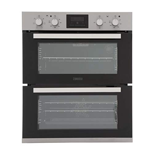 Zanussi ZOF35601XK Multifunction Electric Built Under Double Oven - Stainless Steel