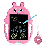 GJZZ Toys for 2-7 Years Old Girls Boys, LCD Writing Tablet 8.5 Inch Doodle Board, Electronic Drawing Tablet Drawing Pads, Educational Birthday Gift for 2 3 4 5 6 Years Old Boy and Girls,Pink