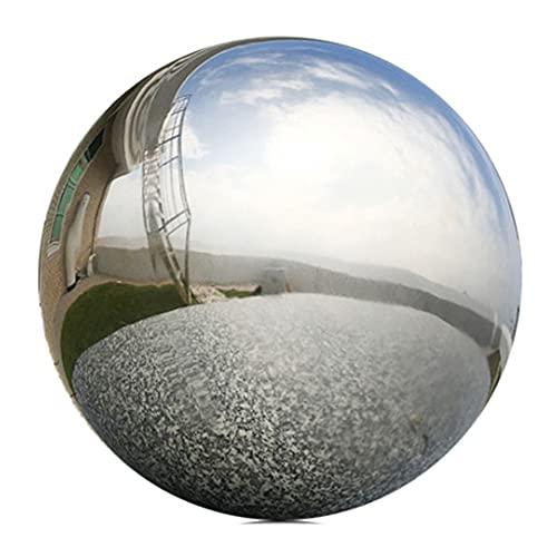 Whyzb Bola de Cristal Bolas de Acero Inoxidable de 30 cm de...