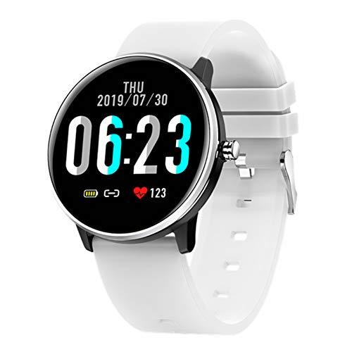 LLTG MX6 Bluetooth Smart Watch Monitor De Ritmo Cardíaco para Hombres Y Mujeres, Reloj Deportivo Impermeable IP68, Rastreador De Fitness para Android iOS,C