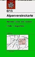 DAV Alpenvereinskarte 0/13 Nevado Ojos del Salado 1 : 100 000: Topographische Karte