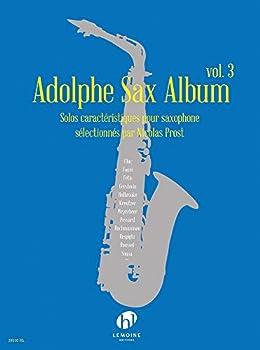 Adolphe Sax Album V3 --- Saxophone  Solos caractéristiques pour saxophone