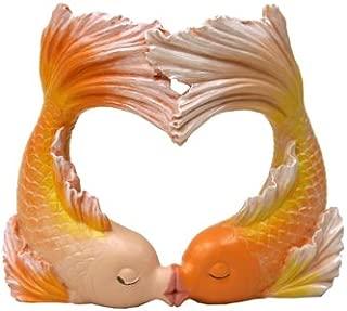 valentine's day fish tank decor