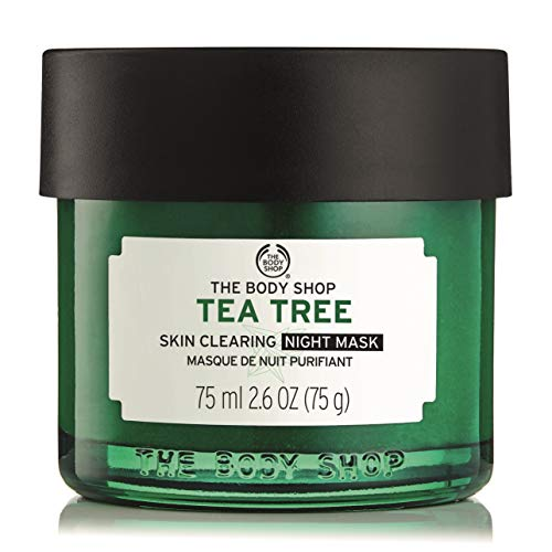 The Body Shop Tea Tree Anti-Imperfection Night Mask, 2.6 Fl Oz (Vegan)