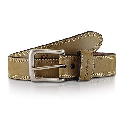 Carhartt Men's Signature Casual Belt, Detroit Brown, 38