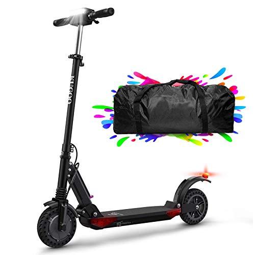 Elektro Scooter, 350W Motor Geschwindigkeit 30km/h, 30km Reichweite, 8 Zoll Höhenverstellbar Elektroroller mit LCD-Display, Faltbarer E Scooter für Jugendliche Und Erwachsene