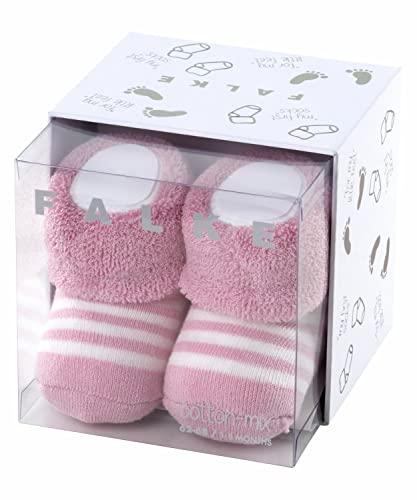 FALKE Unisex Baby Erstlingsringel B SO Socken, Rosa (Thulit 8663), 62-68