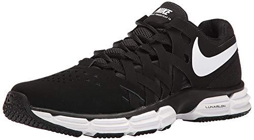 Nike Men's Lunar Fingertrap Trainer Cross, Black/White - Black, 10.5 Regular US