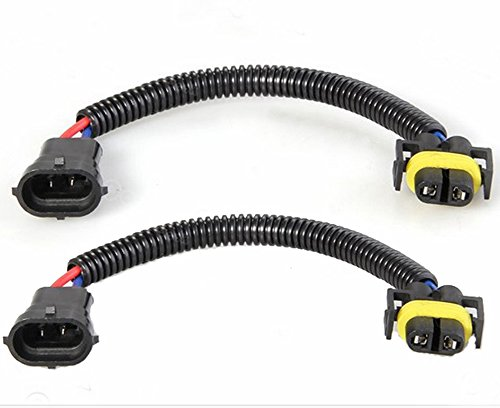 2er H11 auf HB4 Scheinwerfer Adapterkabel Stecker Sockel Kabel Fassung