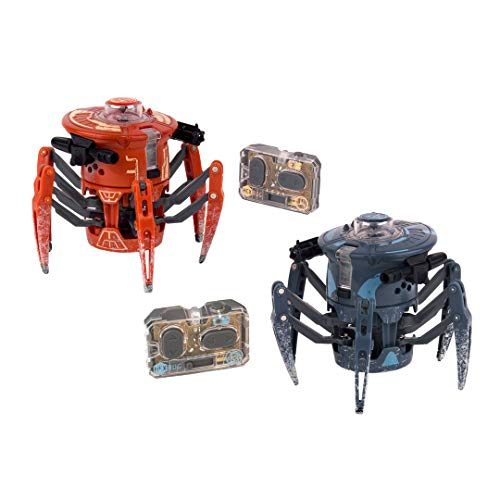 HEXBUG 50112404 - Battle Ground Spider 2.0 Twin Pack, Elektronisches Spielzeug
