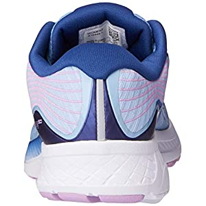Saucony Women's Ride ISO Shoes, Blue/Navy/Purple, 9