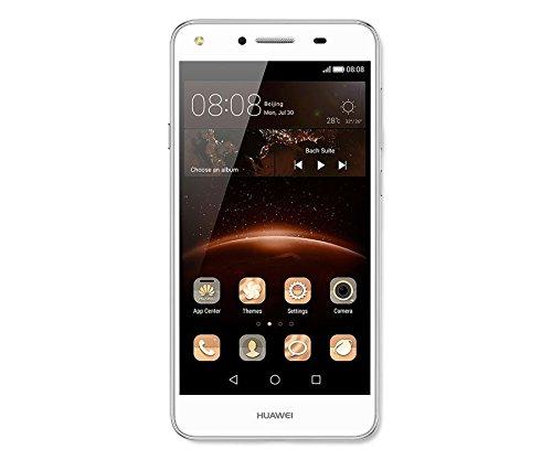 Huawei CUN-L21 Arctic 12,7 cm (5 Zoll) Y5 II Smartphone (LTE, Dual SIM, 8GB, WiFi, Bluetooth, Android 5.1 Lollipop) weiß