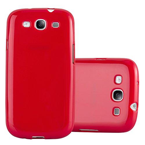 Cadorabo Funda para Samsung Galaxy S3 / S3 Neo en Jelly Rojo...