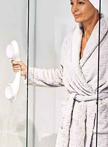 TronicXL 40cm Vakuum Stange - Badezimmer I Badewannen I Dusche I WC I Handtuch I Griff Halterung Halter I Aufstehhilfe Badewannengriff Haltestange OHNE BOHREN & Schrauben