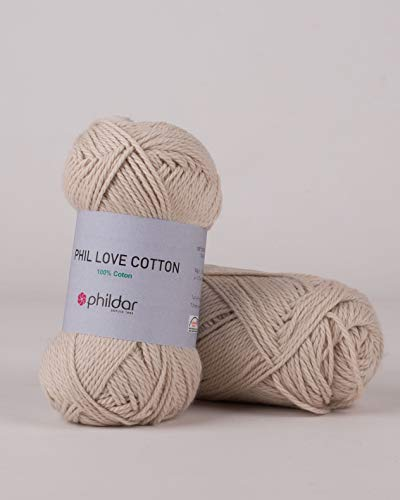 phildar Wolle Phil Love Cotton, 50 g Lin