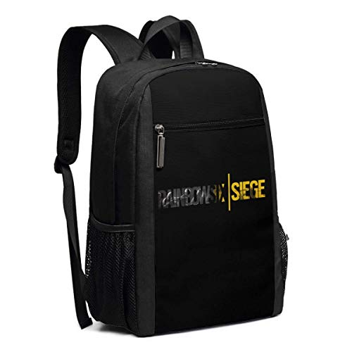 Mochila Escolar, Travel Hiking Rainbow Six Siege Logo Backpacks Waterproof Big Student College High School Laptop Shoulder Bag Outdoor Backpacks For Men Women Adults
