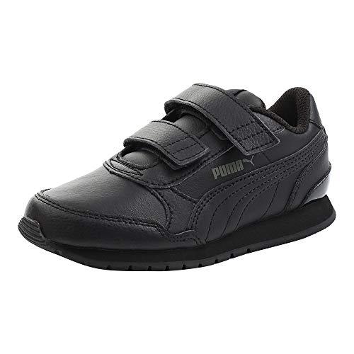 Puma Unisex-Kinder St Runner V2 L V Ps Sneaker, Black-Dark Shadow, 28 EU