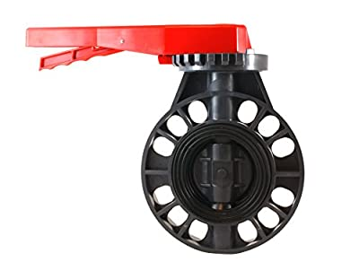"PVC Butterfly Valve 3"" - EPDM Seals - Sanipro from SANIPRO"