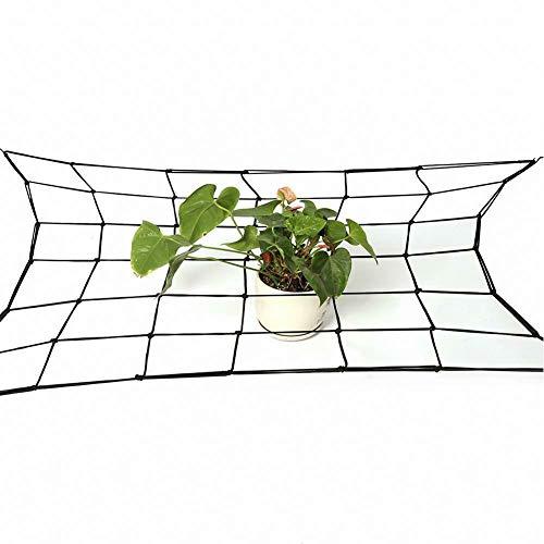 Rete elastica da giardino, rete flessibile con ganci, per la crescita delle piante, per animali domestici e verdure