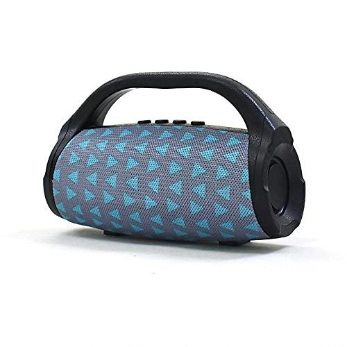 Altavoz Bluetooth portátil con Bluetooth inalámbrico con 3D estéreo Hi-Fi Bass batería integrada de 1200 mAh de carga rápida 3