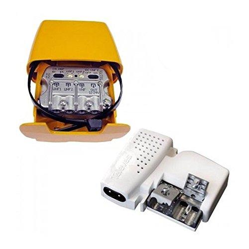 Kit Alimentación + Amplificador mástil conectividad 'Easy F'' tv tnt